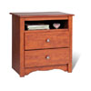 Tall 2-Drawer Nightstand DC-2428_ (PP)