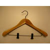 Cedar Contoured Suit Hanger with Clips CDD8922 (PM)