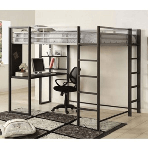 Sherman Full Size Workstation Loft Bed CM-BK1098F(IEM)