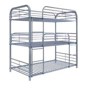 Opal II Three Layer Twin Bunk Bed (Multiple Colors)