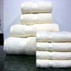 8PC. Set Cream Egyptian Cotton Towels ed8pc (RPT)