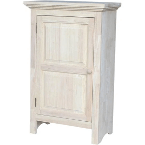 Solid Wood Unfinished Single Jelly Cabinet 36-Inch CU-125(ICFS)