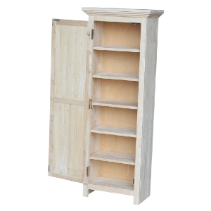 Solid Wood Unfinished Storage Cabinet 48-Inch CU-15(ICFS)