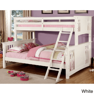 Cude Mission Twin XL over Queen Kid Bunk Bed DM826YJ (430 Lbs Weight Capacity)
