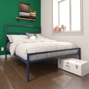 Simoneau Full Size Platform Bed (Multiple Colors)(450 Lbs Weight Capacity)