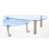 Glass Top Coffee/Nested Table F5419 (TMC)