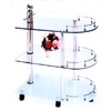 Glass Top Serving Cart F5421 (TMC)