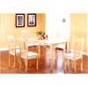 5 Pcs Solid Wood Dinette Set F5443/F5506(TMC)