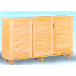 3-Door Shoe Cabinet With Solid Doors 5642(VF)