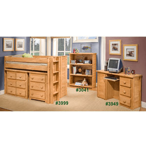 Twin Or Full Jr. Loft Bed 3999(PC)