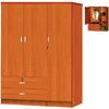 3-Door 2 Drawer Wardrobe HID2080(HOFS150)