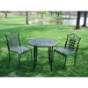 Black Iron 3-piece Patio Bistro Set 10234542(OFS250)