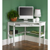 White Solid Birch Corner Desk 10639244(OFS176)