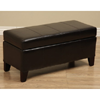 Warehouse of Tiffany Ariel Leather Storage Bench 13940925(OF