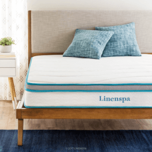 8 Inch Memory Foam and Innerspring Hybrid Mattress - Medium-Firm Feel LS08TTMFSP(AZFS)