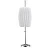 Accordian Table Lamp LS-2488C/WHT (LS)