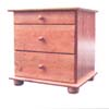 Solid Wood Night Stand NS3(AI)