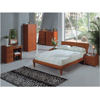 Dark Cherry Matte Finish Bedroom Set P171B_(PK)