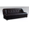 Black Leather Sofa Bed S143 (PK)