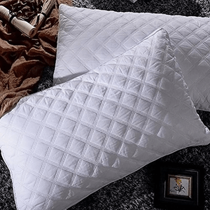 2 Pack Goose Down Alternative Quilted Bed Pillow SA-BD008(AZFS)