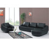 Leather L-Shape Sofa Convertible Bed S286(PK)