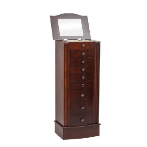 Standing Jewelry Armoire Cabinet Makeup Mirror G13001064