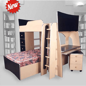 Custom Made Loft Bed System T-3(CT)