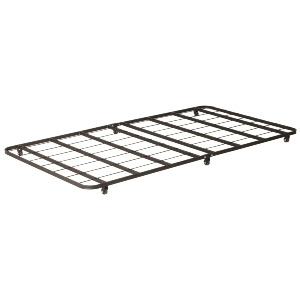 Metal Twin Trundle Bed With Wheels (500 Lbs Weight Capacity)