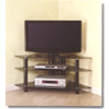 Bermuda Corner Glass TV Stand V44Y76(WE)