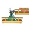 2 Pcs Solid Wood Shelf WS00168(HDS)