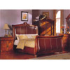 4 Pc Antique Cherry Finish Bedroom Set CM7140S_(IEM)
