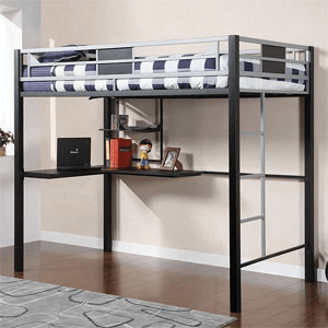 Clifton II Full Size Workstation Loft Bed CM-BK1027 (IEM)