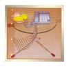 End Table with Magazine Rack D14 (HT)