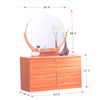 Dresser And Mirror DS-268(ALA)