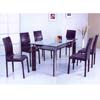 Glass Top Dining Table DS-8088T (E&S)