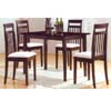 5-Pc Dinette Set in Walnut F5453 (TMC)