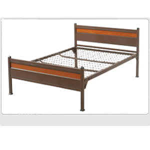 Platinum Metal Single Bed PL360S_(ABM)(400 Lbs Weight Capacity)