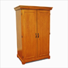 Solid Wood Wardrobe/Linen closet 2 Doors GCC3(GH)