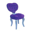 Chair w/Heart Design  HBS3817 (HB)
