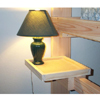 Solid Wood Lamp Shelf