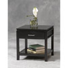 Sutton Black End Table 84028BLK-01-KD-U (LN)