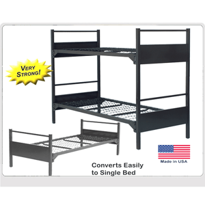 Extreme Duty Durable Metal- Bunk Bed 5000(ABM)(400 Lbs Weight Capacity)