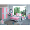 Pantek YA-102 Bedroom Set White-Pink