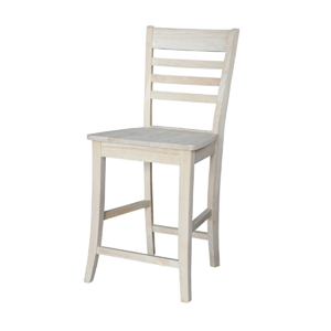 Unfinished Roma Counter Height Stool S-201_(IC)