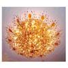 Antique Bronze Crystal Flower Basket SC-070 (HT)