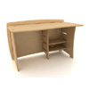 50 In. Straight Desk SDB-120_ (LF)